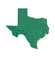 map texas vector image vector image