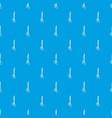 medical scissors pattern seamless blue vector image vector image