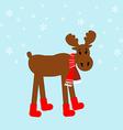 Moose icon vector image vector image