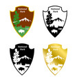 national park vector image
