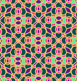 Seamless pattern of Moroccan mosaic vector image vector image