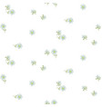 simple rural daisy florals tender pastel pink vector image