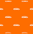 taxi pattern seamless vector image vector image