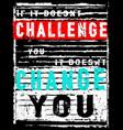 vintage slogan man t shirt graphic design vector image vector image