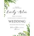 wedding invite invitation save the date card deli vector image