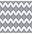 seamless pattern Monochrome graphic design vector image