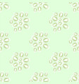 cucumber seed seamless pattern isolated on green vector image