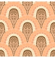 Geometric pattern in art deco style in soft colors vector image vector image