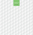 golf ball texture background vector image
