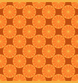 orange fruit seamless bright pattern vector image vector image