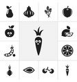 set of 12 editable cooking icons includes symbols vector image vector image