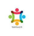 Teamwork icon business concept team work union