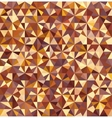 Triangle Seamless Abstract Background vector image vector image