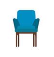 armchair decoration comfort wooden business vector image vector image