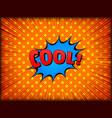 comic explosive bright concept vector image vector image