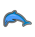 Dolphin logo icon design