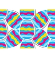 Easter pattern Eggs ornament vector image vector image