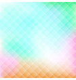 geometric colorful abstract background vector image vector image