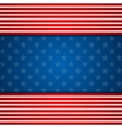 Presidents Day abstract USA flag colors background vector image vector image