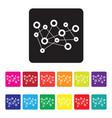 seo report icon set vector image vector image