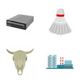 technology history and other web icon in cartoon vector image vector image