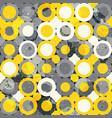 urban circle seamless pattern vector image vector image
