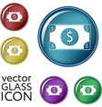 Dollar bill symbol of money vector image