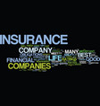 life insurance quotes for the consumer text vector image vector image