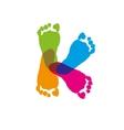 logo kids vector image vector image
