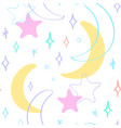 pastel crescents vector image vector image