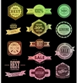 Premium Quality Guarantee vector image vector image