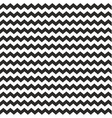 Zig zag chevron wrapping tile black white pattern vector image vector image