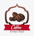 Coffee shop house design vector image