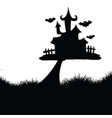 hallowen background vector image