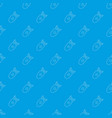 atomic bomb pattern seamless blue