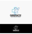 chiropractic vector image vector image