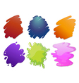 Colorful wave lines vector image