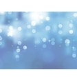 Glittery blue Christmas background EPS 8 vector image vector image