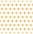 Golden Glitter Geometric Background vector image