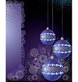 Magical New Years background vector image vector image