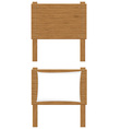 wooden board 01 vector image vector image