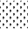 cervical collar pattern vector image vector image