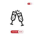 cheer icon vector image vector image