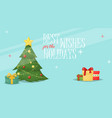 christmas card xmas greeting decoration holiday vector image vector image