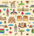 country south africa travel vacation places and vector image