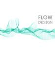 flow shapes design liquid wave abstract flow shape vector image vector image
