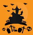 hallowen day vector image vector image