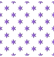 Heavenly six pointed star pattern cartoon style vector image vector image