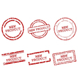 New product stamps vector image