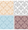 Summer seamless ethnic pattern collection vector image vector image